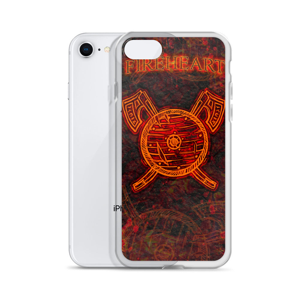 FireHeart iPhone Case
