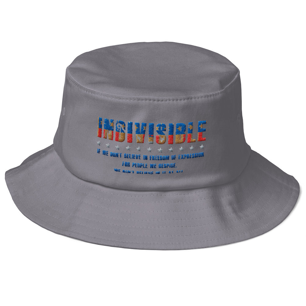 Indivisible Old School Bucket Hat