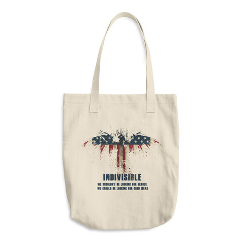 Indivisible Cotton Tote Bag