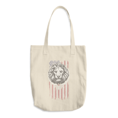 American Lion Cotton Tote Bag