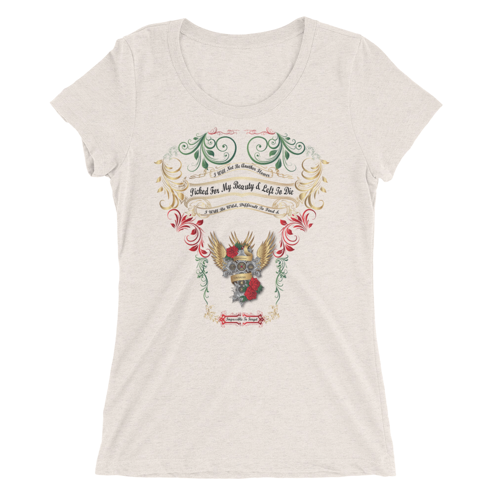 Templar Cross Ladies' short sleeve t-shirt