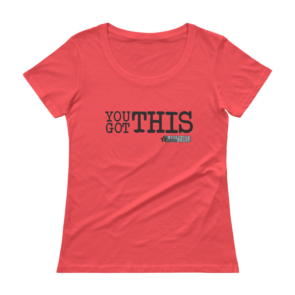 Inspirational Ladies' Scoopneck T-Shirt