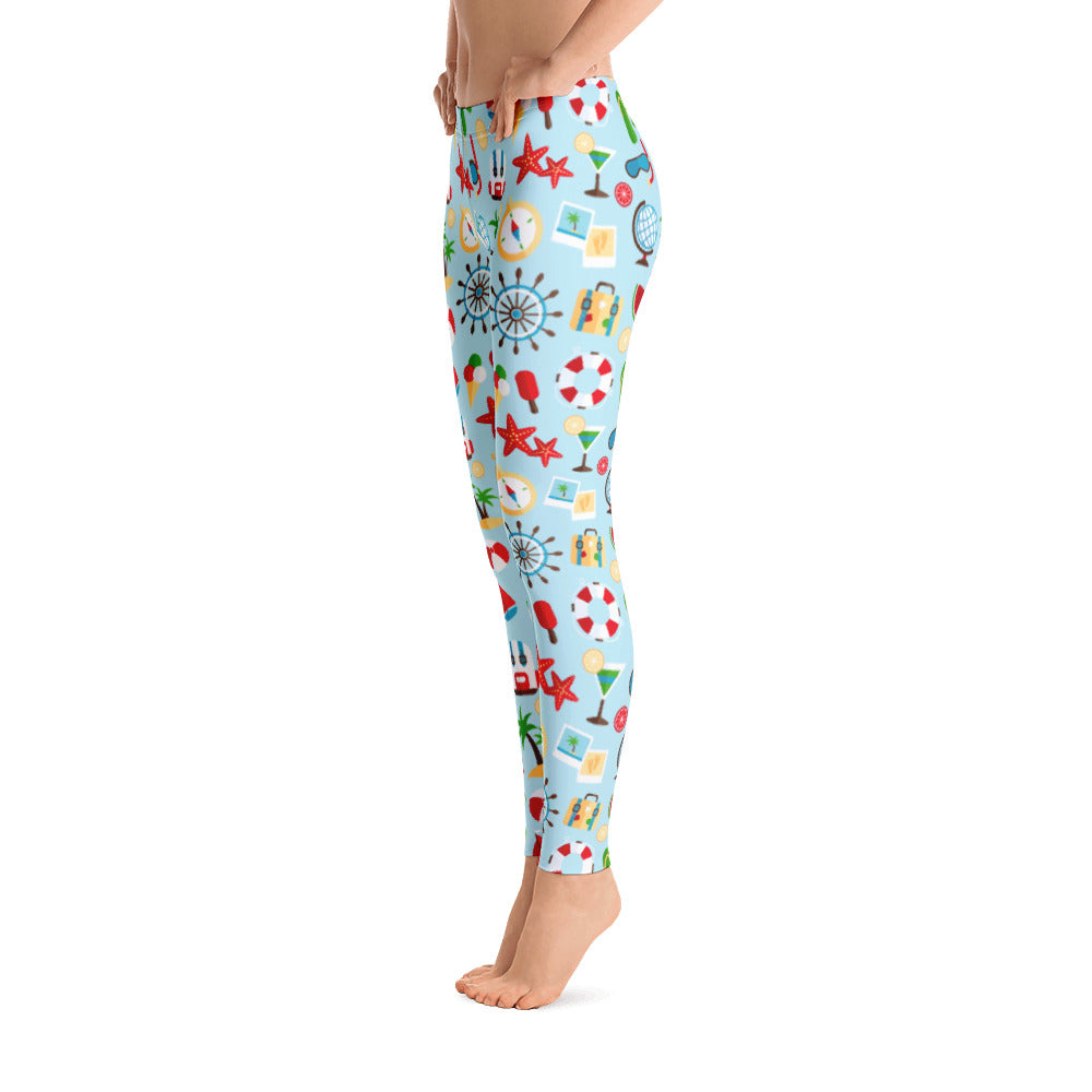 Fruit Pattern Leggings