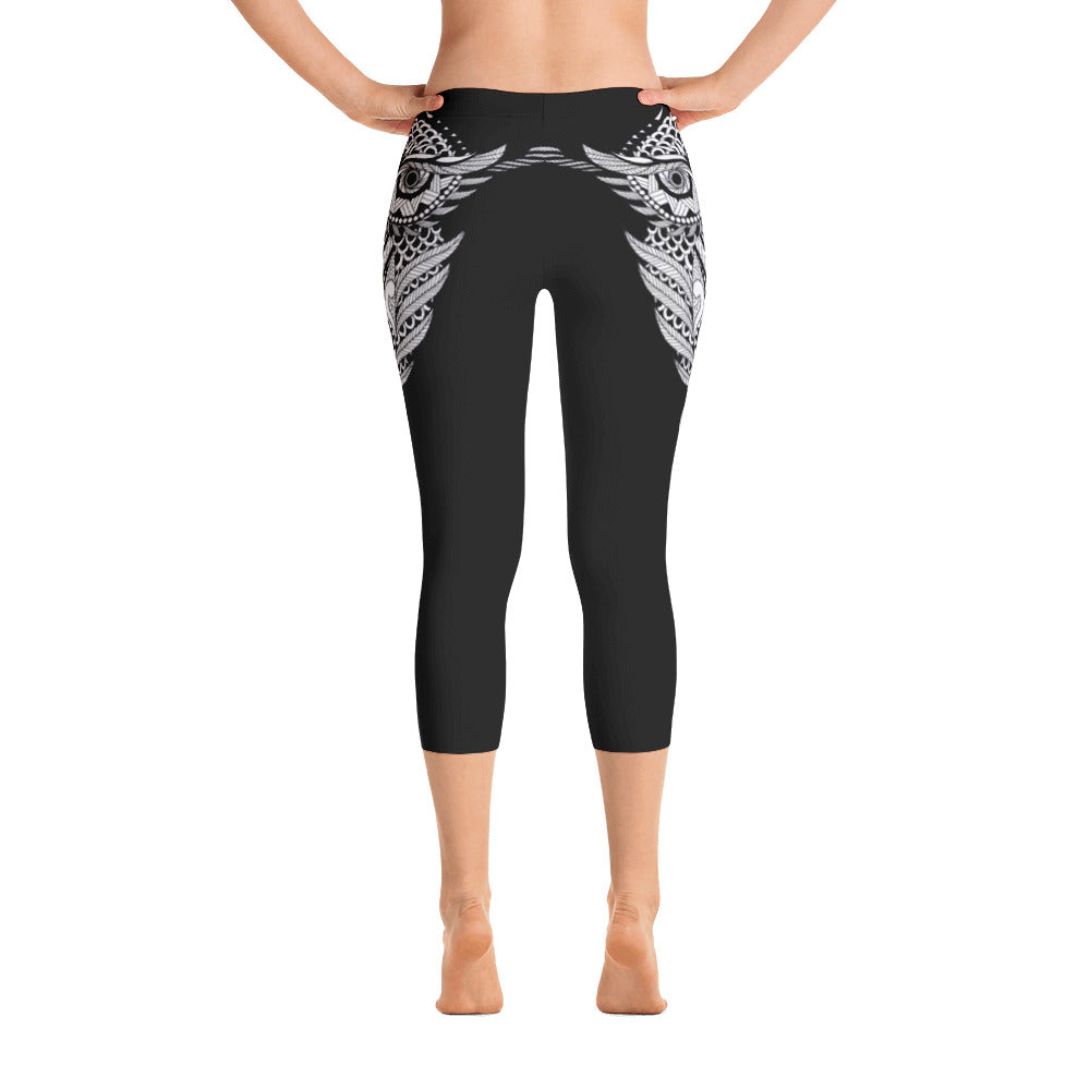 Owl Capri Leggings