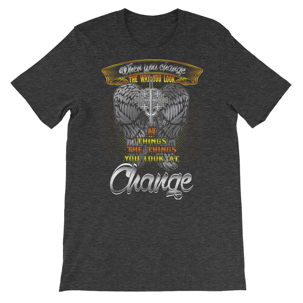 Templar Eagle Short-Sleeve Unisex T-Shirt