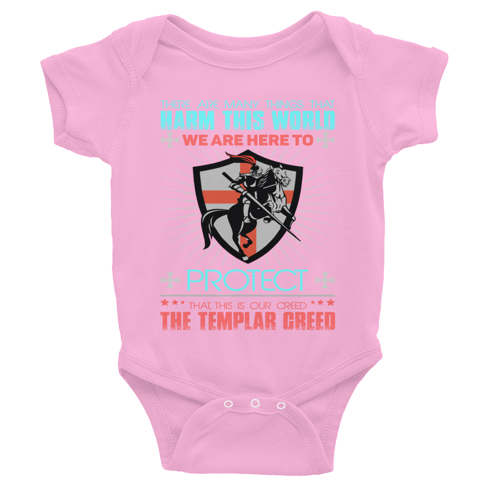 Templar Oath Infant Bodysuit