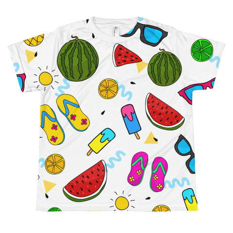 BeachAll-over youth sublimation T-shirt