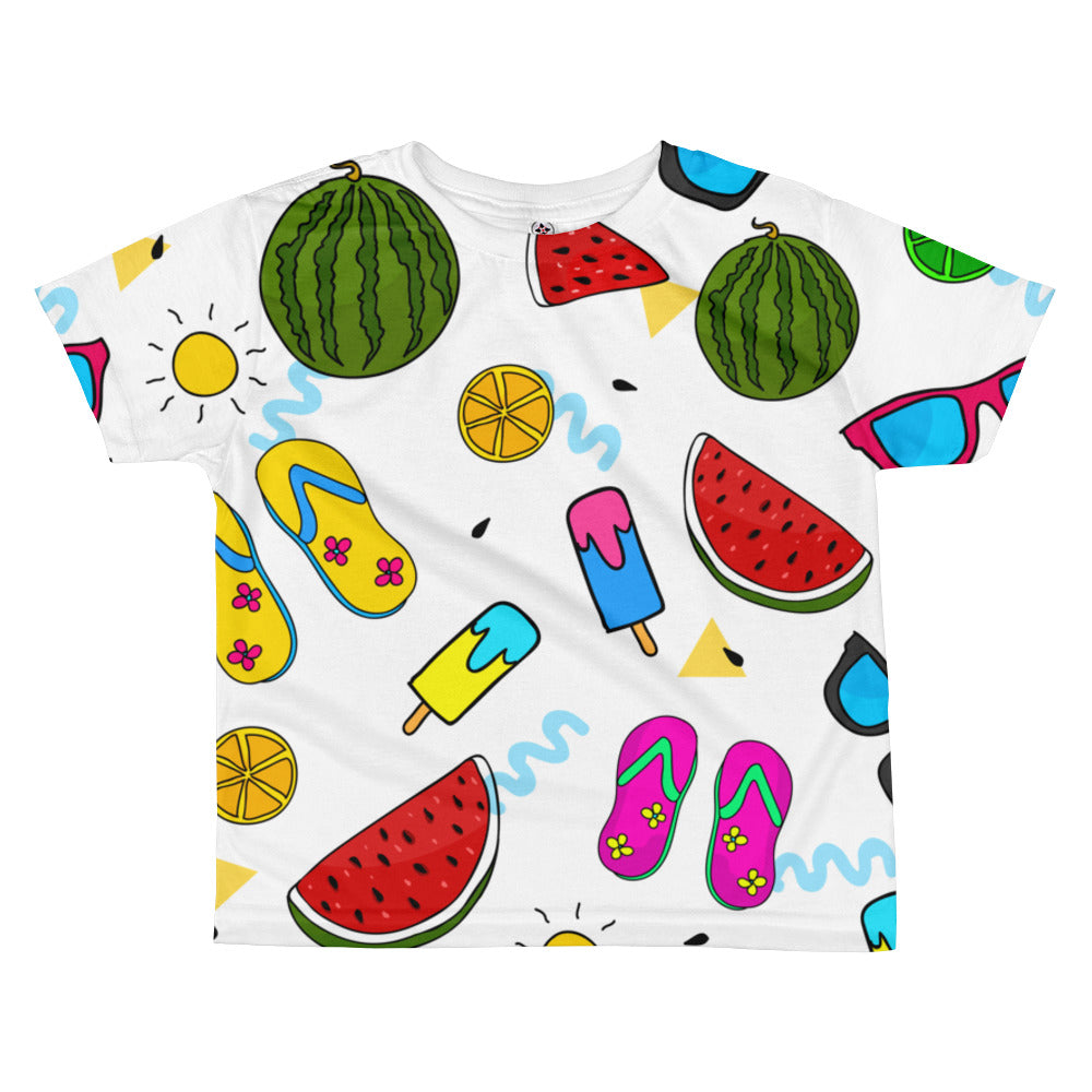Beach All-over kids sublimation T-shirt
