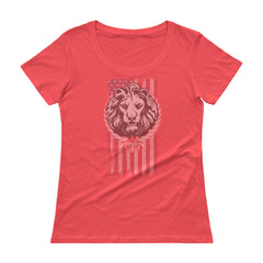 American Lion Ladies' Scoopneck T-Shirt