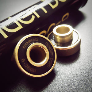 GOLDEN BALLS BEARING SET - Cosmo Longboard Co.