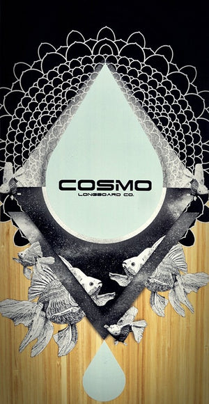 COSMIC DANCER 46 DECK - Cosmo Longboard Co.