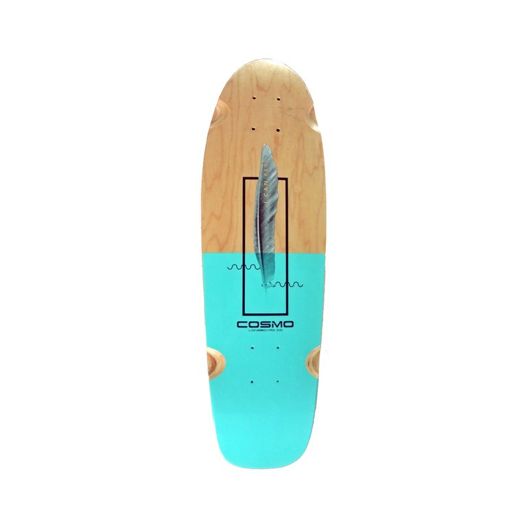 FEATHER 27 MINI CRUISER COMPLETE - Cosmo Longboard Co.