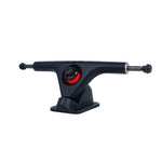 LUNAR V1 TRUCKS BLACK WITH VENOM BUSHINGS - Cosmo Longboard Co.