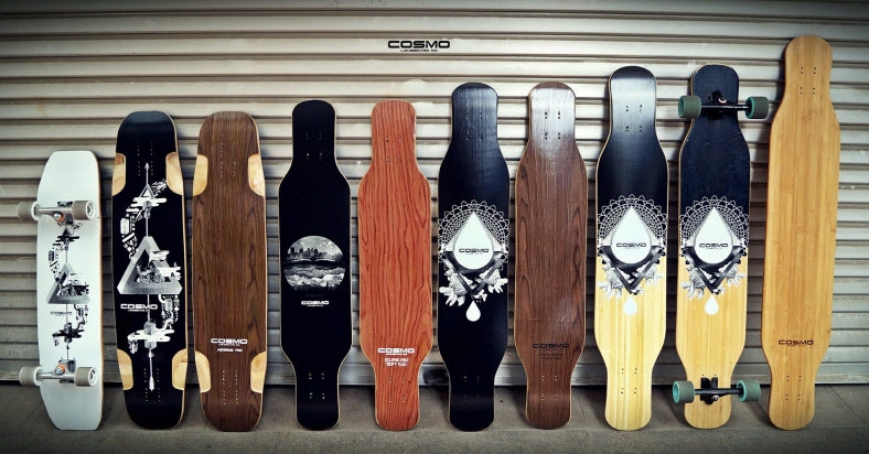 COSMIC DANCER 44 DECK - Cosmo Longboard Co.