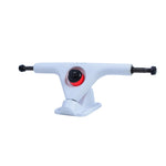 LUNAR V1 TRUCKS WHITE WITH VENOM BUSHINGS - Cosmo Longboard Co.