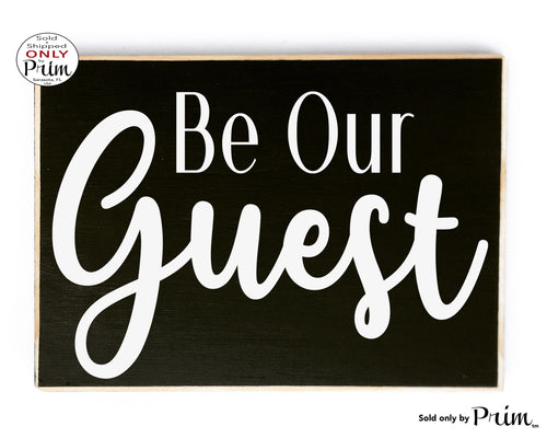 Be Our Guest Custom Wood Family Bedroom Air Bnb Pool House Guest House Plaque