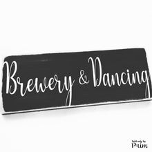 Load image into Gallery viewer, Wedding Bundle Custom Wood Sign Wedding Bride Groom Ceremony Vows Bridal Shower Restroom Dancing Brewery Dinner Drinks Nuptials Door Plaque