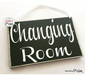8x6 Changing Room Custom Wood Sign Salon Shop Retail Store Nursery Daycare Dressing Room Spa Business Custom Wood Sign