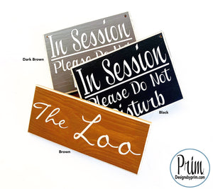 Designs by Prim Custom Wood Sign Color Chart Dark Brown Black