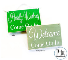 Load image into Gallery viewer, Designs by Prim Custom Wood Sign Color Chart Cottage Green