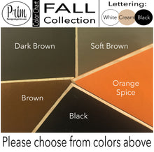 Load image into Gallery viewer, Pumpkin Spice Custom Wood Autumn Fall Sign