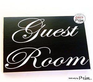 10x8 Guest Room Custom Wood Sign Entrance Suite Quarters Cottage Guest House Rental Pool Room Wall Door Directional Plaque