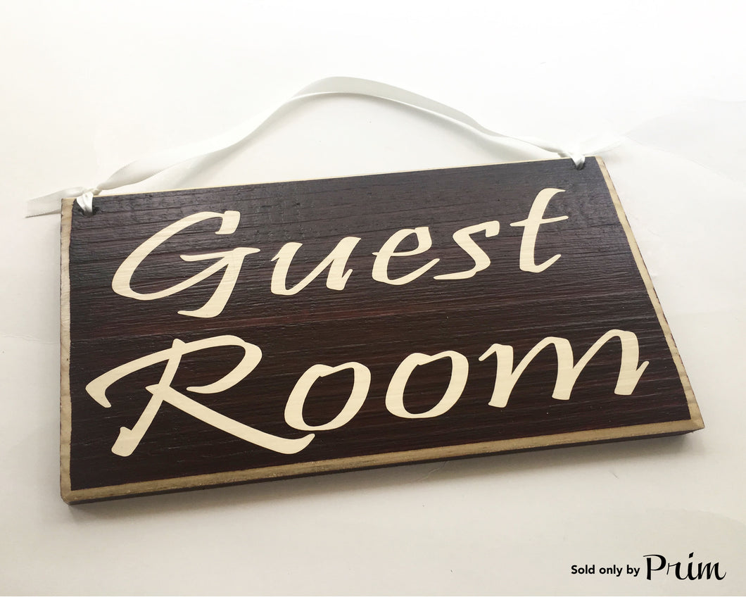 8x6 Guest Room Wood Airbnb Bed and Breakfast Sign