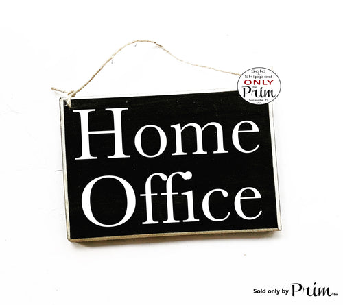 8x6 Home Office Working Custom Wood Sign | Work From Home Busy In A Meeting Session In Progress Door Plaque | Working Please Do Not Disturb