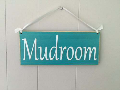 10x4 Mudroom Custom Wooden Entry Sign
