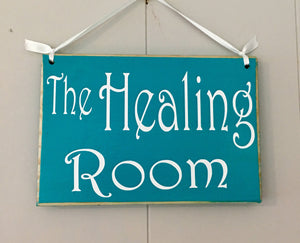 8x6 Healing Room Custom Wood Sign In Progress Session Do Not Disturb Spa Salon Yoga Welcome Office