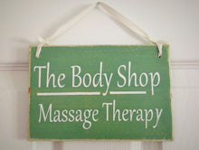 Load image into Gallery viewer, 8x6 Two Sided Custom Massage Wood Sign