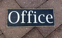 Load image into Gallery viewer, 10x4 Office Wood Business Corporate Sign