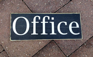 10x4 Office Wood Business Corporate Sign