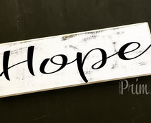 Load image into Gallery viewer, 12x4 Hope Wood Family Blessing Sign