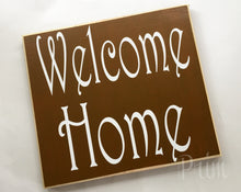 Load image into Gallery viewer, 12x10 Welcome Home Wood Sweet Home Sign