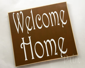 12x10 Welcome Home Wood Sweet Home Sign