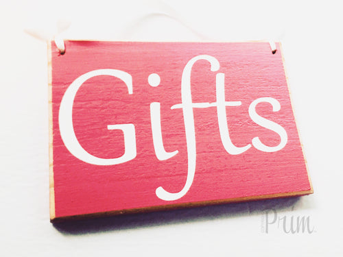 8x6 Gifts Store Shop Certificates Merchandise Spa Salon Waxing Treatment Wood Sign