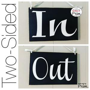8x6 In Out Not Available Custom Wood Sign