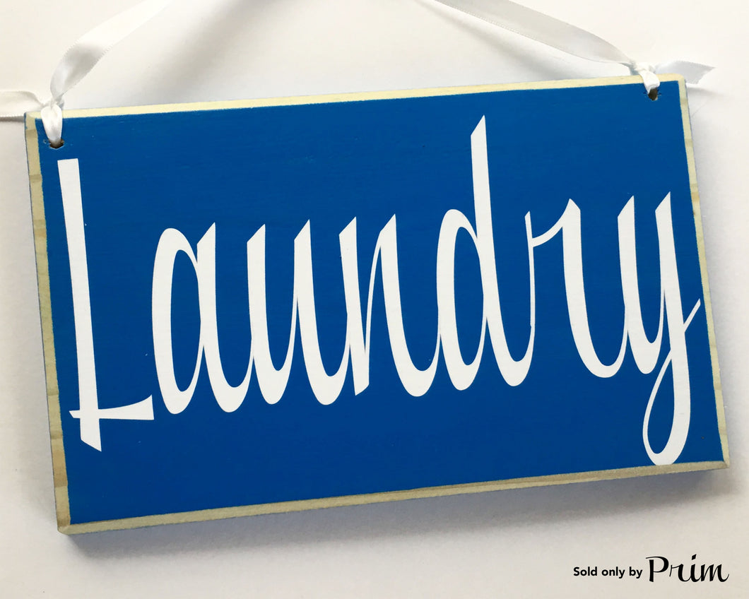 8x6 Laundry Wood Sign Wash and Dry