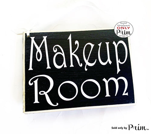 8x6 Makeup room Custom Wood Sign | Beauty In Progress Session Please Do Not Disturb Artist Studio Facial Eyebrow Lashes Salon Door Plaque