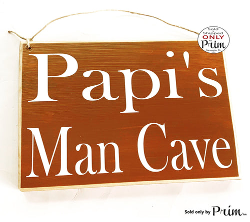 Personalized Man Cave Custom Wood Name Sign