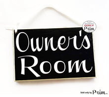 Load image into Gallery viewer, 8x6 Personalized Custom Name Room Wood Sign | Title Office Business Bed and Breakfast Church Meeting Staff Door Plaque Hanger