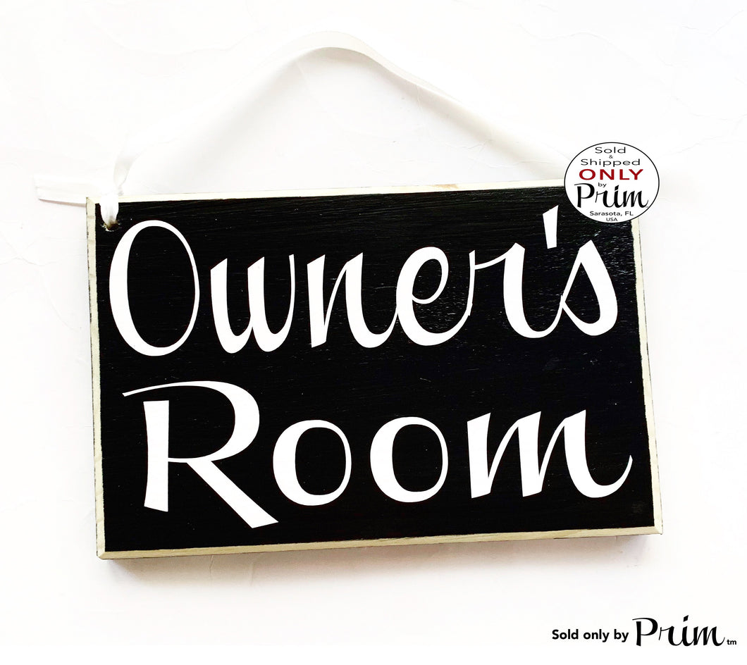 8x6 Personalized Custom Name Room Wood Sign | Title Office Business Bed and Breakfast Church Meeting Staff Door Plaque Hanger