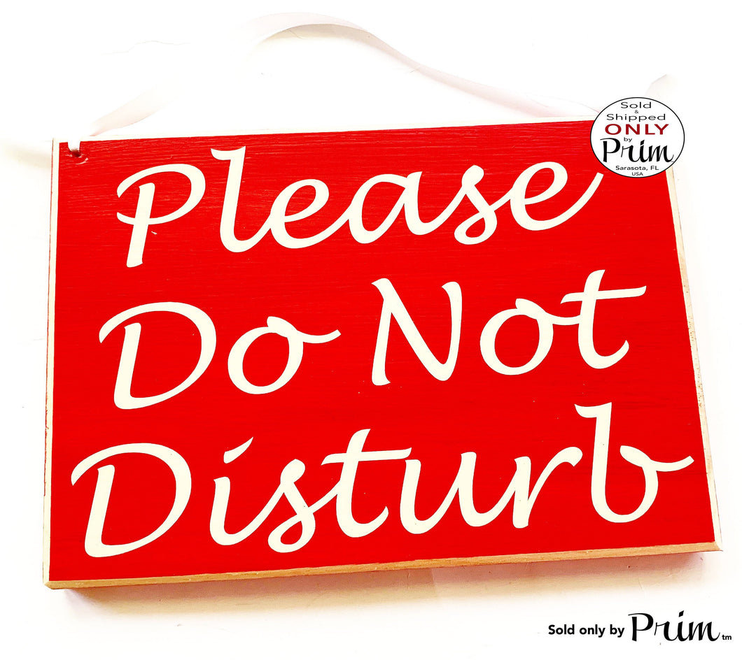10x8 Please Do Not Disturb Custom Wood Sign Shhh Meeting In session In Progress Silence Quiet Soft Voices Quiet Spa Salon Office Door Plaque