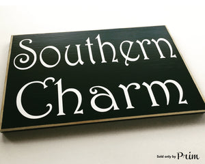10x8 Southern Charm Wood Country Hospitality Sign