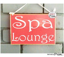 Load image into Gallery viewer, 8x6 Spa Lounge Room Custom Wood Sign