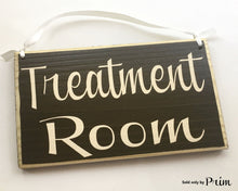 Load image into Gallery viewer, 8x6 Treatment Room Spa Massage Relaxation Wood Sign