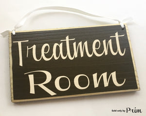 8x6 Treatment Room Spa Massage Relaxation Wood Sign
