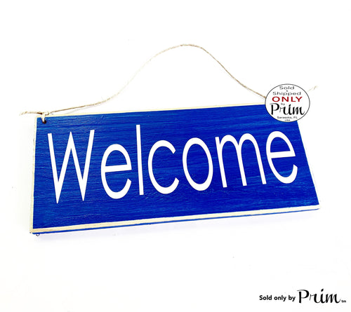 10x4 Welcome Custom Wood Sign Please Enter Open Greetings Home Sweet Home Come On In Front Door Plaque