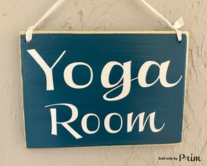 8x6 Yoga Room Wood Sign